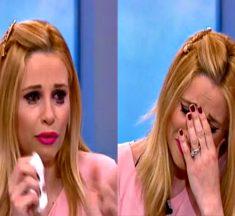 Γιατί ξέσπασε σε κλάματα η Χριστιάνα Αριστοτέλους; – Δεν μπορούσε να μιλήσει! – Βίντεο